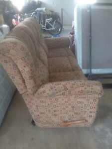 Double recline couch