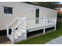 3 bedroom caravan Hopton on sea, hopton holiday village.
