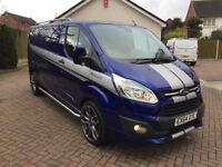 FORD TRANSIT CUSTOM LIMITED RS EDITION 125 LWB NO VAT