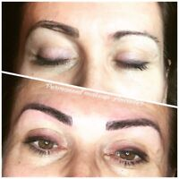 Feathering eyebrows $350 promo