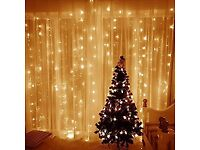 7 sets of Led Curtain Warm White Curtain Lights