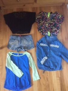 CLOTHING!!! 35+ ITEMS!!Dresses/crops/skirts/shorts