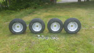 1973-1985 chev 4x4 rally wheels and tires
