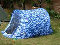 Pro Action/Argos Regatta 2 Man Pop Up Tent…