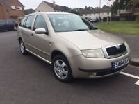 2005 Skoda Fabia, 1.4, long MOT, 2 owners.