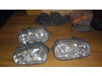 VW Golf mk4 (1997-2003) headlights