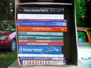 Business course books