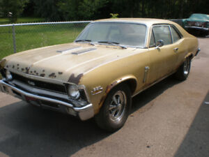 1971 Nova SS ??  2 Dr. Coupe 350 V8 At  {BARN FIND} must sell