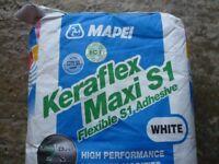 Tile Adhesive..Mapei White Keraflex ..20kg
