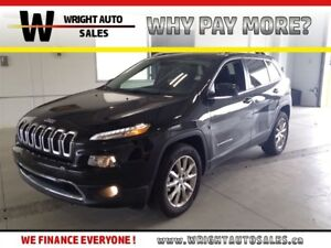 2016 Jeep Cherokee LIMITED|4X4|NAVIGATION|LEATHER|33,797 KMS