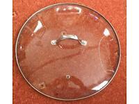 30cm glass lid