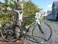 Road Bike, Carbon frame, excellent condition, light use.