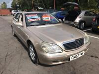 ***MERCEDES S320 DIESEL AUTOMATIC ONLY 61,000 MILES 2002 FULLY LOADED***