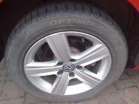 3 X Hankook Tyres - Optimo 4S winter/4 season Tyres 205/55R16 94V M+S - lightly used