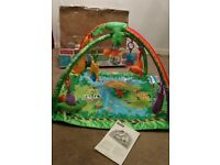 Fisher-Price rainforest gym with music and lights for 0-6 months old