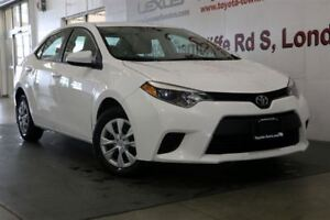 2014 Toyota Corolla SINGLE OWNER LE ECO HEATED SEATS & BACKUP CA