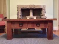 Barker & Stonehouse oak coffee table