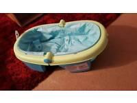 Baby inflatable folding bath