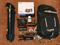 Canon 6D plus Battery grip, Rode mic + extras!!