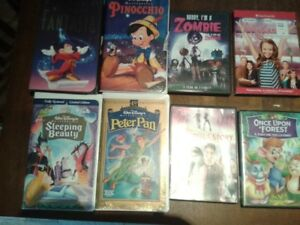 DVD's & VHS - Children Movies- Nice Selection