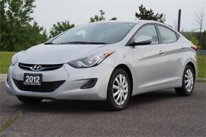 2012 Hyundai Elantra GLS 6-Speed Manual Very Clean Like New!
