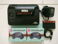 Sega Master System 2 Console with 2 Games