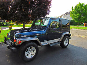 2004 JEEP TJ EDITION COLUMBIA 2004, 4 litres.