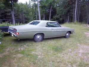 1968 ford galaxy 500,has original motor and tranny,302,with c4