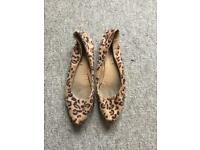 Office Animal Print shoes size 41