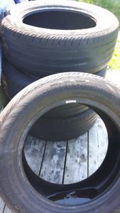 235 / 55 / 17 tires