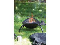 Camping Firepit Fire Pit BBQ Grill BNIB