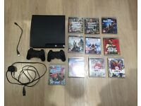 PS3 black (Sony PlayStation 3)
