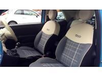 2017 Fiat 500 1.2 Lounge 2dr Manual Petrol Convertible