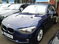 BMW 1 Series 116d EfficientDynamics Business (FULL LEATHER+SAT NAV)