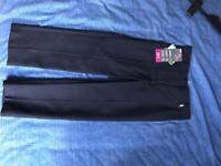 School uniform girls navy trouser slim fit 4 years Brand new