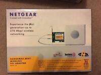 Netgear Rangemax ADSL2+ Modem Router & PCI Wireless Adapter