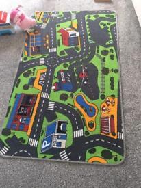 Large city rug