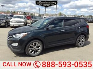 2013 Hyundai Santa Fe AWD 2.0 LUXURY Accident Free,  Rear DVD,