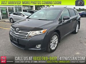 2009 Toyota Venza AWD | 2.7L, Leather, Pano-Sunroof, Rear Camera