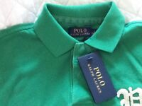 BRAND NEW MENS RALPH LAUREN POLO TOP SMALL