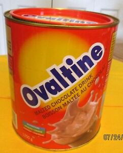 VINTAGE OVALTINE TIN FROM TOGO, WEST AFRICA