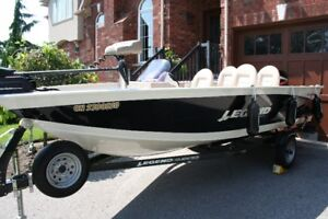 LEGEND XGS BOAT for fishing and pleasure