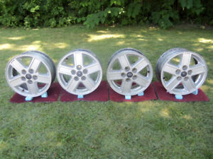 4 Ford rims 15 inch diameter 5 bolt pattern
