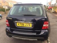 Mercedes ML 320 CDi V6 diesel, Service History, Long MOT, Sat Nav, Heated memory seats,
