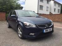 KIA CEED 3 DIESEL AUTO 2011 ** UNDER KIA WARRANTY ** LONG MOT