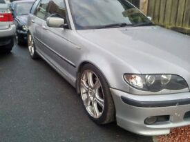BMW 330d M SPORT TOURING MOT 1/18 FSH LEATHER INTERIOR VERY FAST CAR MAY TAKE CHEAP PART EXCHANGE