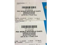MATCHPLAY DARTS FINAL TICKETS
