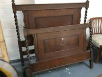 Single Bed Ends / Antique
