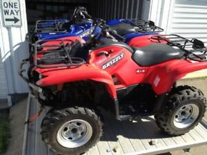 Parting Out - 2009 Yamaha Grizzly 550 (700)