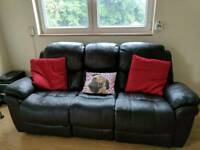 Free two-piece reclining sofa suite - Collection Only